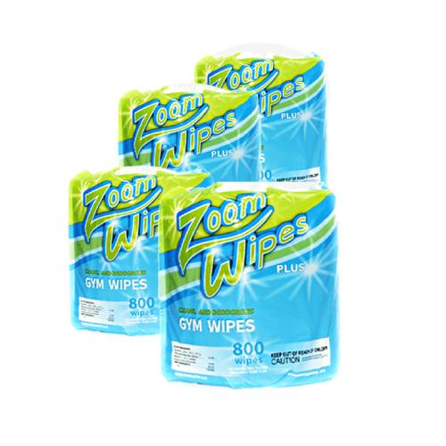 DISINFECTING WIPES (Case of 4 Refills) - Premier Fitness Service