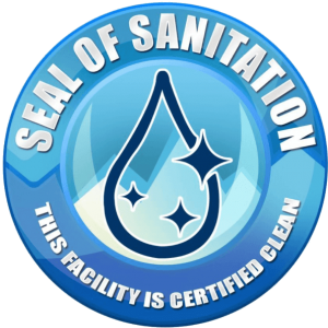 SEAL OF CLEAN, DECAL - Premier Fitness Service