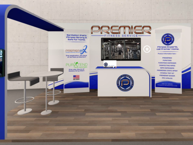 Premier Fitness Service is proud to participate in our first ever Virtual Tradeshow! - Premier Fitness Service