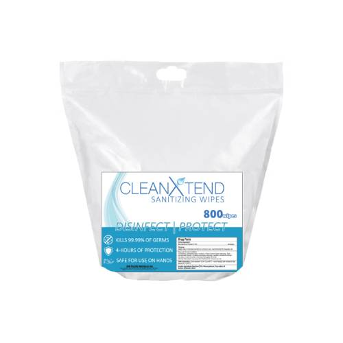 CleanXtend Sanitation Wipe | Coming January 2021! - Premier Fitness Service