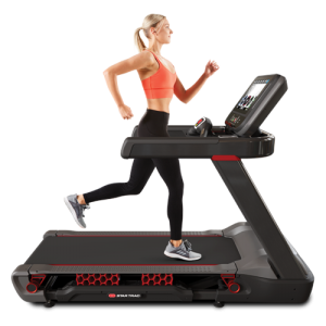 Woman On Treadmill Image